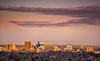 Boise Skyline Winter Sunrise