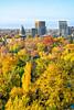 Boise, Idaho in the Autumn