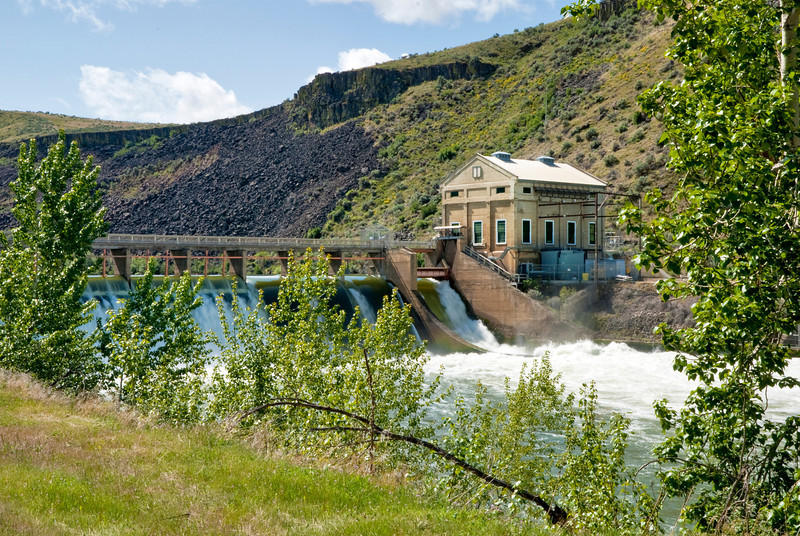 Diversion Dam and Power station Boise Idaho