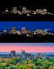Coming of Light Boise Idaho Skyline Fall