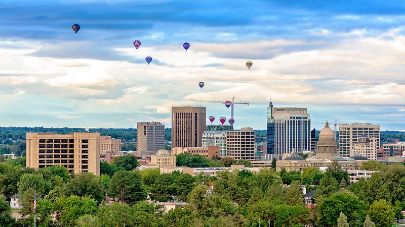 Boise Balloon Festival 2015