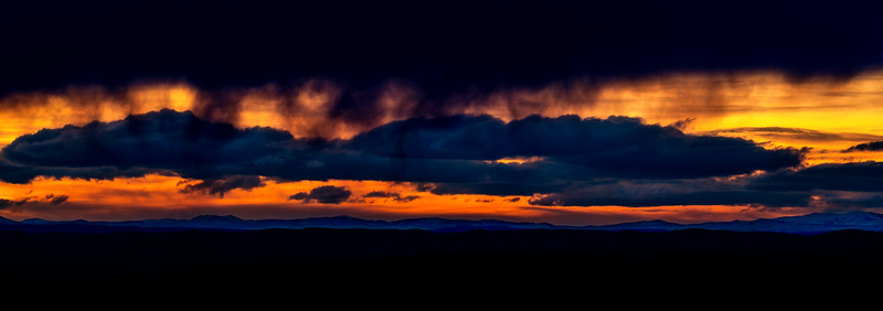 Appraching storm on the horizon