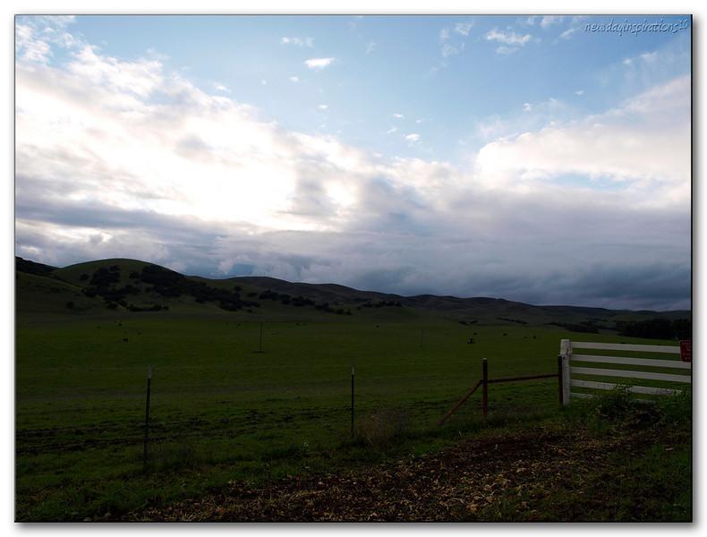 Fairfield Clouds after a big storm