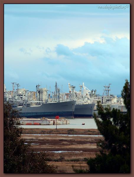Mothball Fleet in Benicia