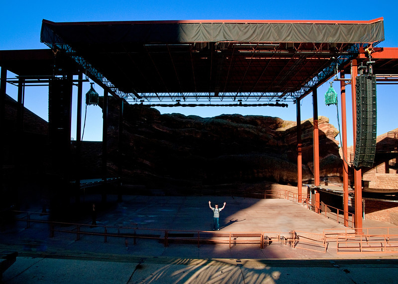 Red Rocks Amphitheater Stage