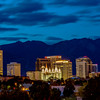 Salt Lake City Utah at Night