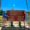 The Continental Divide Sign