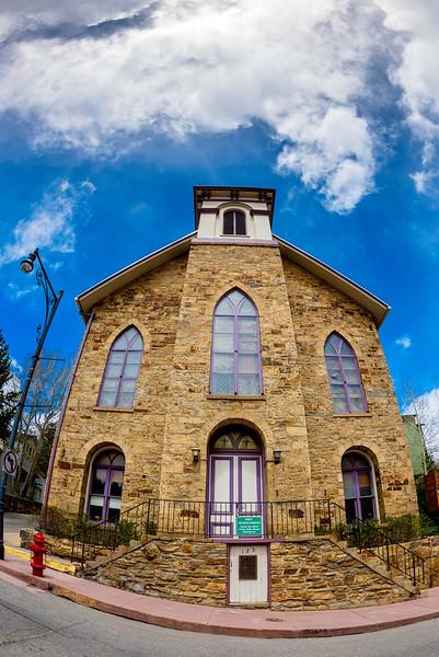 Old Church in Colorado