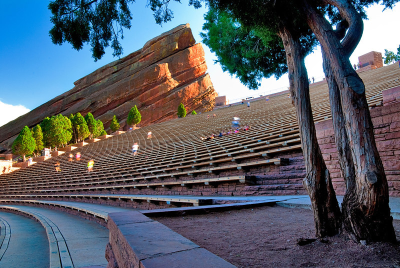 Red Rocks Amphitheater Seats