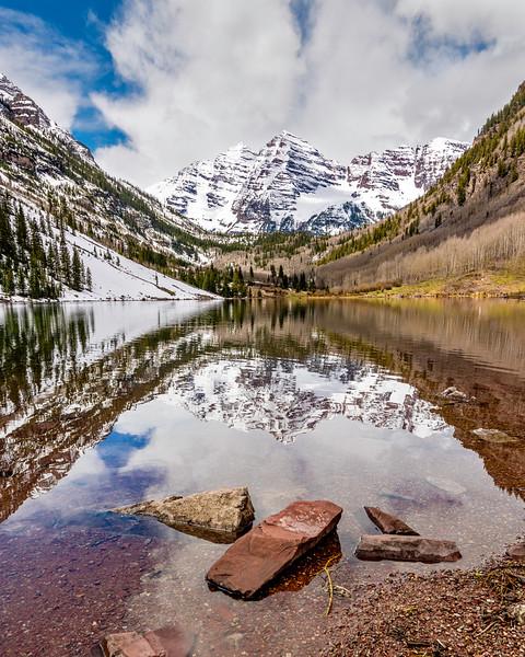 Maroon Bells Colorado Rockies