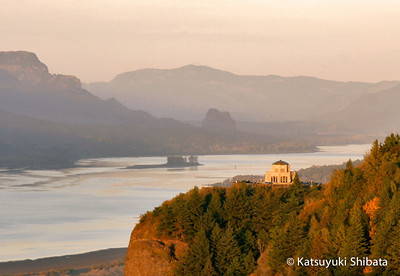 Crown Point, Columbia River Gorge - October 2005