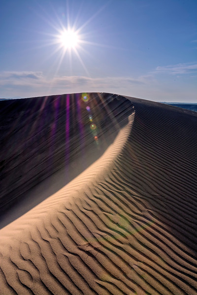 Sand Dune with Afternoon Sun