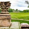 Old Capital Pillars at the National Botanical gardens