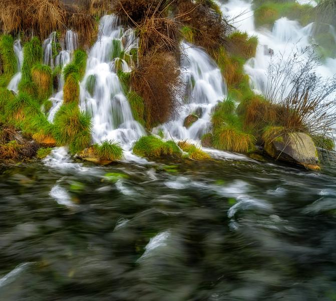 Small Spring feeds into a stream
