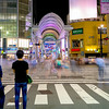 Hondori square streen crossing Hiroshima