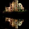 """Hiroshima Peace Park """"A-Bomb Dome""""  night reflection"""