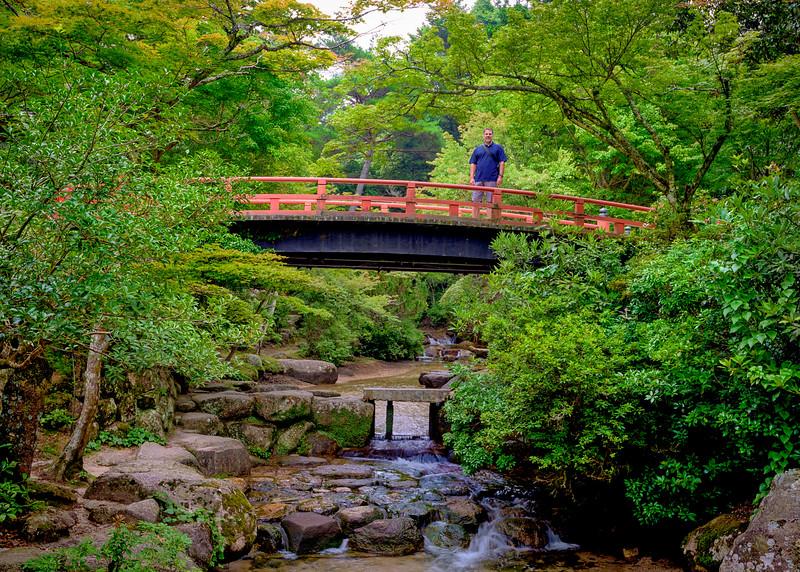 Todd Edgar on Miyajima island