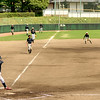Little league baseball practice in Saijpo Japan
