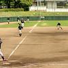 Little league baseball practice in Saijpo Japan