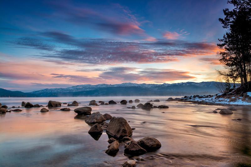 Payette Lake McCall Idaho winter