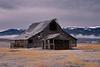 Barn at Sugar Loaf near Cascade Idaho