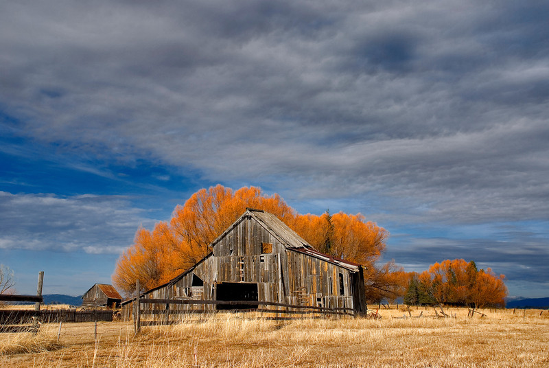 Roseberry Barn near McCall Idaho