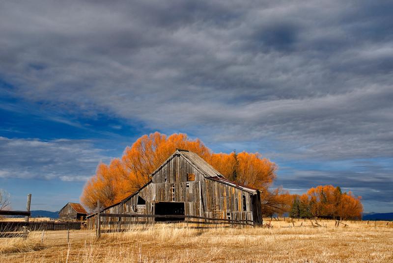 Roseberry Barn near McCall Idaho