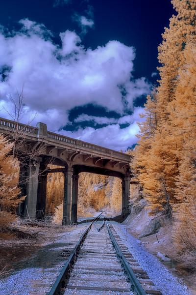 Train tracks at Rainbow bridge