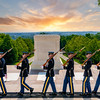 Tomb of the unknow soldier at Arlington cemetery