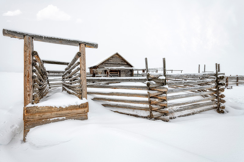 Stanley Corral winter snowing