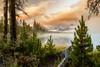 Morning Fog on Little Redfish Lake