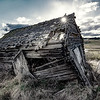 Weathered old barn built by the Finns back in the day