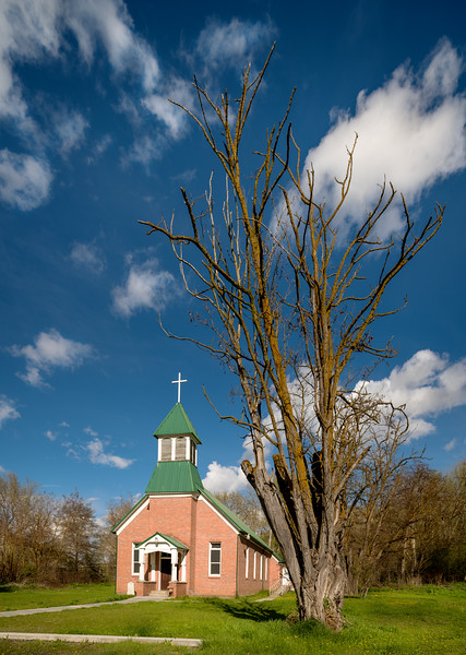 Small country Church in Lapwai Idaho