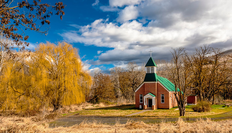 Rural Idaho Church