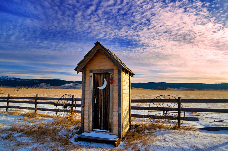 Roseberry Outhouse