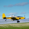 Idaho Crop Duster south of Caldwell sprays a field