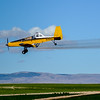 Crop Duster spraying crops near Caldwell Idaho