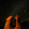 Pillars of Rome Oregon Milky-way