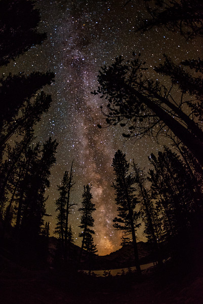 Milky-way Sawtooth National Forest
