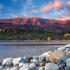 Sunrise on Wallowa Lake Oregon