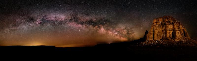 Spring Milky Way over Rome Oregon