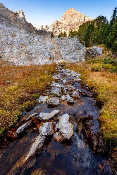 West Fork of the Pahsimeroi River look to Mount Idaho