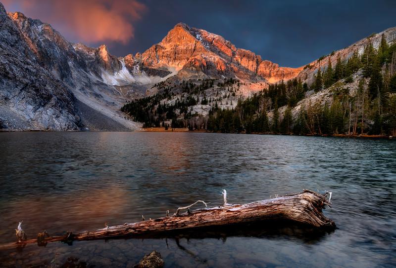 Sunrise on Mount Idaho at Merriam Lake