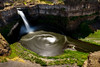 Palouse Falls composite of 200 images spanning 210 seconds