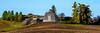 Round Barn that is part of an Eastern Washington farm