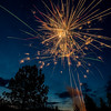 Fireworks display in Placerville Idaho