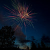 2017 fourth of July fireworks show in Placerville Idaho
