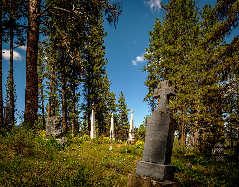 Placerville Cemetery on Laborday weekend