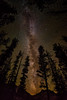 Milky-way night in the Sawtooths