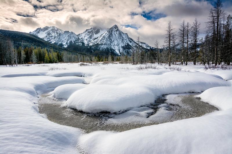 McGowan winter Sawtooths